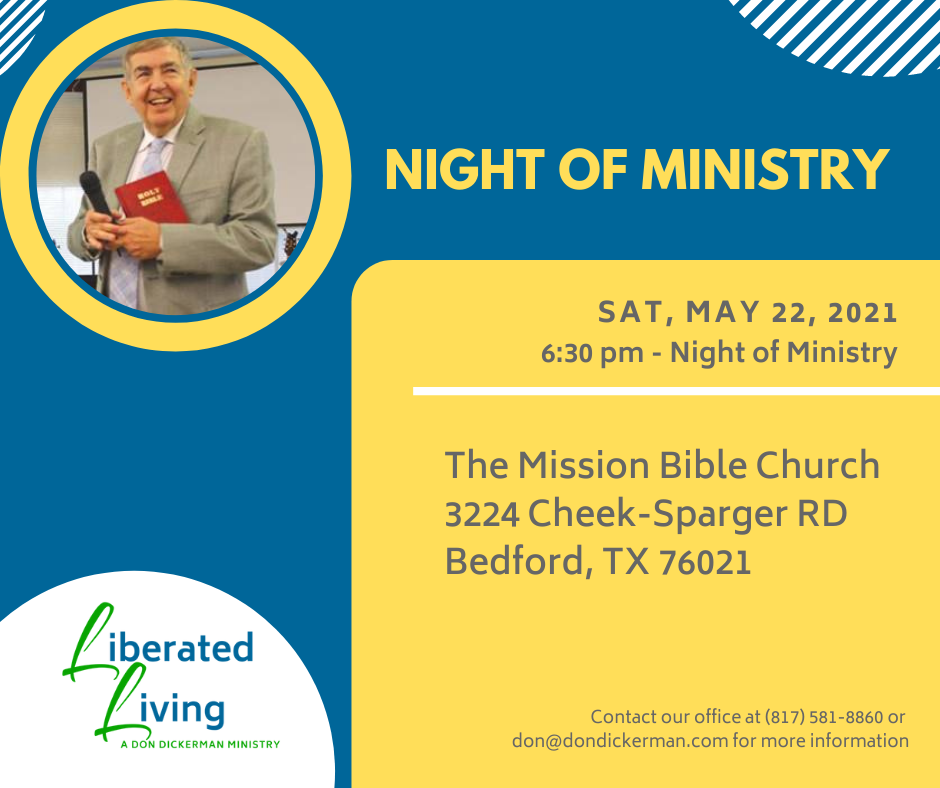 5/22/21 Night of Ministry